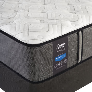 Sealy® Pershing Cushion Firm - Mattress + Box Spring