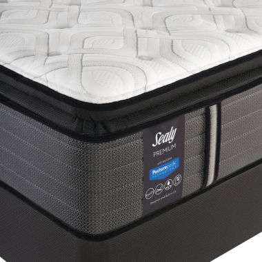 Sealy® Pershing Cushion Firm Pillowtop - Mattress + Box Spring