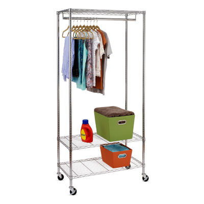 Honey-Can-Do 3-Shelf Deluxe Garment Rack