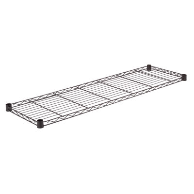 Honey-Can-Do Steel Shelf- 250 Lbs Black 14X48