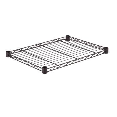 Honey-Can-Do Steel Shelf- 250 Lbs Black 18X24