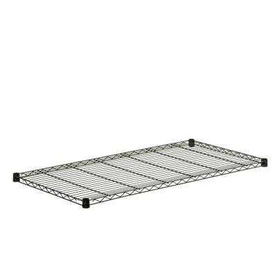 Honey-Can-Do Steel Shelf-250 Lbs Black 18X48