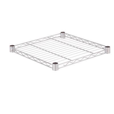Honey-Can-Do Steel Shelf- 250 Lbs Chrome 18X18