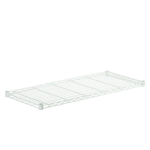 Honey-Can-Do Steel Shelf- 250 Lbs White 16X36