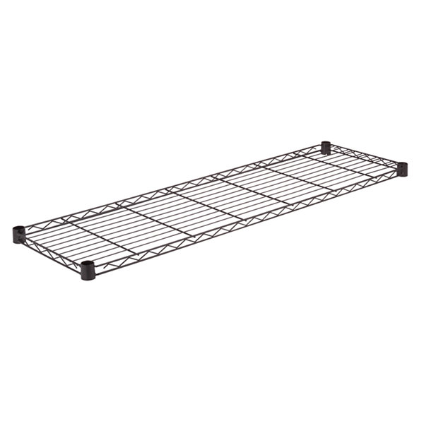 Honey-Can-Do Steel Shelf-350 Lbs Black 14X48