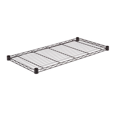 Honey-Can-Do Steel Shelf-350 Lbs Black 18X36