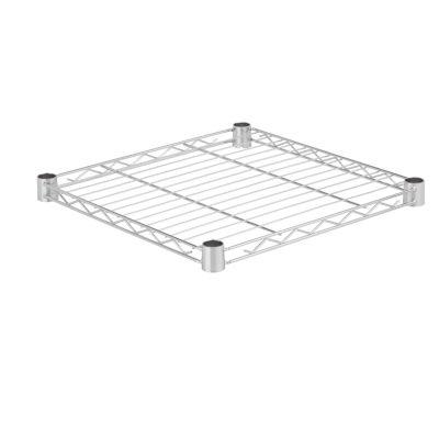 Honey-Can-Do Steel Shelf-350 Lbs Chrome 18X18