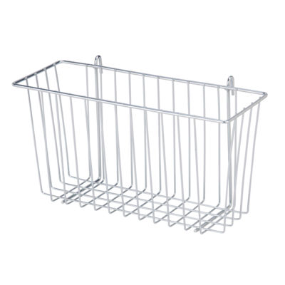 Honey-Can-Do Chrome Wire Accessory Basket