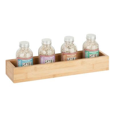 Honey-Can-Do Bamboo Box Wall Shelf