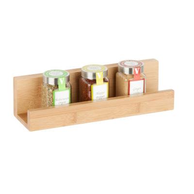 Honey-Can-Do Bamboo Wall Shelf