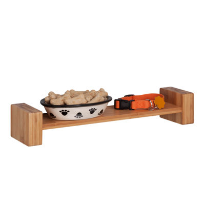 Honey-Can-Do Bamboo H Shape  Wall Shelf
