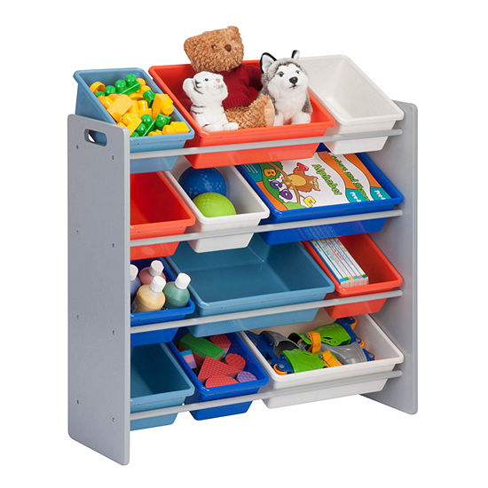 Honey-Can-Do Kids Storage Organizer- 12 Bins