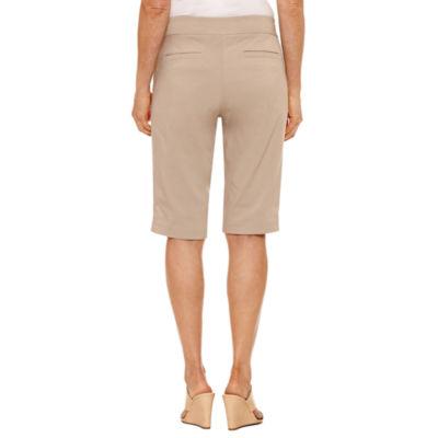 "Briggs New York Corp Spring Fashion 14"" Woven Bermuda Shorts"