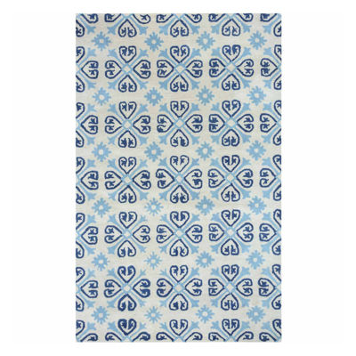 Rizzy Home Opus Print Rectangular Rugs