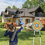 Discovery Bullseye Outdoor Archery Set with LED Target Light-Up Toy Night/Day Activity