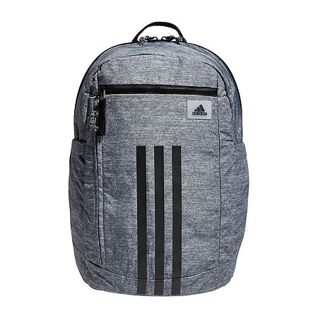 adidas League Three Stripe 2 Backpack, One Size , Gray