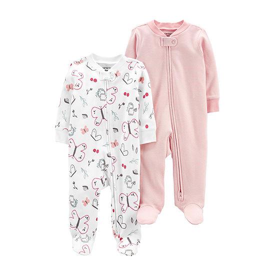 Carter's Baby Girls 2-pc. Sleep and Play