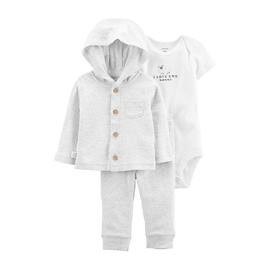 Carter's Baby Unisex 3-pc. Pant Set
