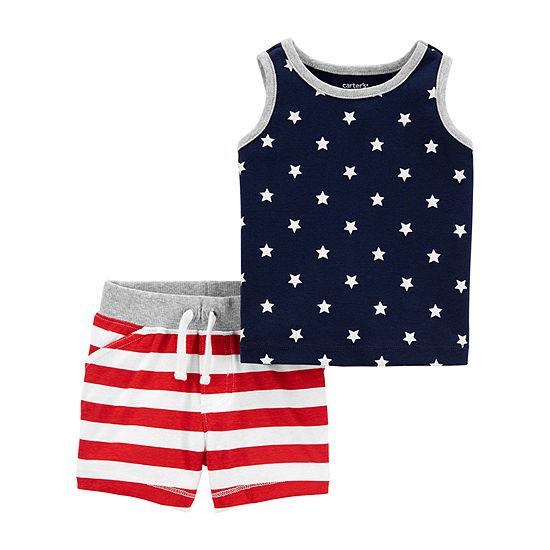 Carter's Americana Baby Boys 2-pc. Short Set