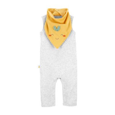 Carter's Baby Unisex Sleeveless Jumpsuit