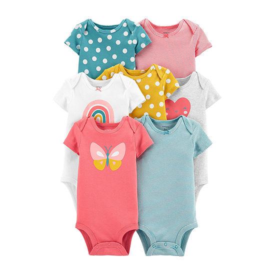 Carter's Baby Girls 7-pc. Bodysuit