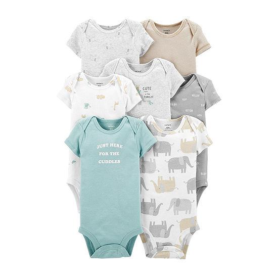 Carter's Little Baby Basics Baby Unisex 7-pc. Bodysuit