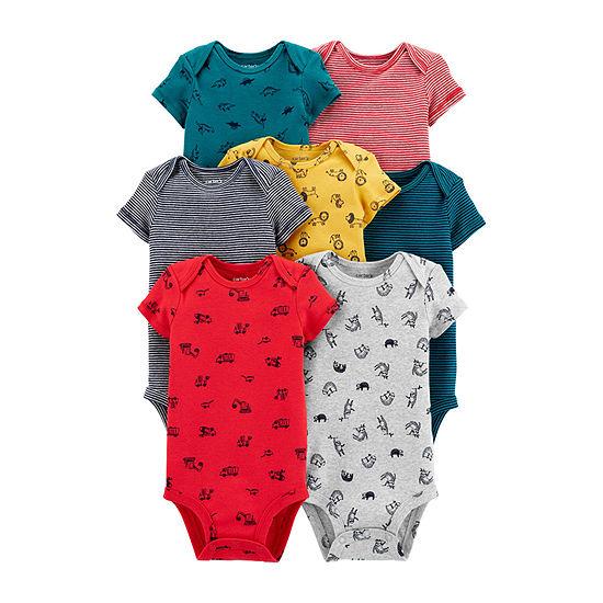 Carter's Little Baby Basics Baby Boys 7-pc. Bodysuit