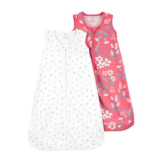 Carter's Little Baby Basics Girls 2-pc. Sleeveless Baby Sleeping Bags