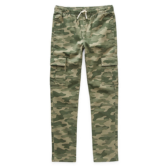 Thereabouts Little & Big Boys Tapered Cargo Pant