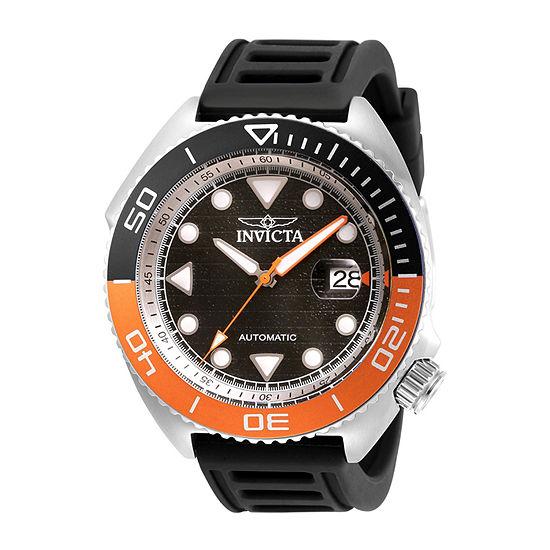 Invicta Pro Diver Mens Automatic Black Bracelet Watch 30423