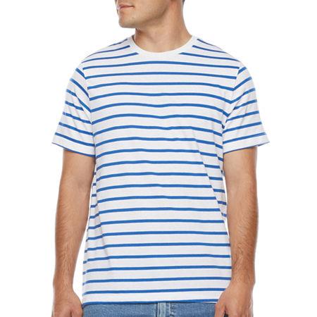 1950s Mens Shirts | Retro Bowling Shirts, Vintage Hawaiian Shirts St. Johns Bay Mens Crew Neck Short Sleeve T-Shirt Xx-large  White $7.49 AT vintagedancer.com