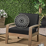 Outdoor Dècor Round Outdoor Pillow