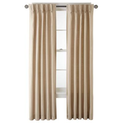 Royal Velvet Supreme Thermal Pinch-Pleat Curtain Panel