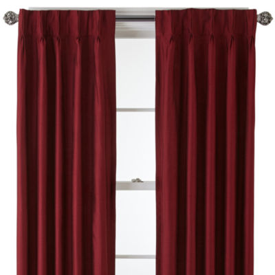 Royal Velvet® Supreme Pinch-Pleat/Back-Tab Thermal Curtain Panel