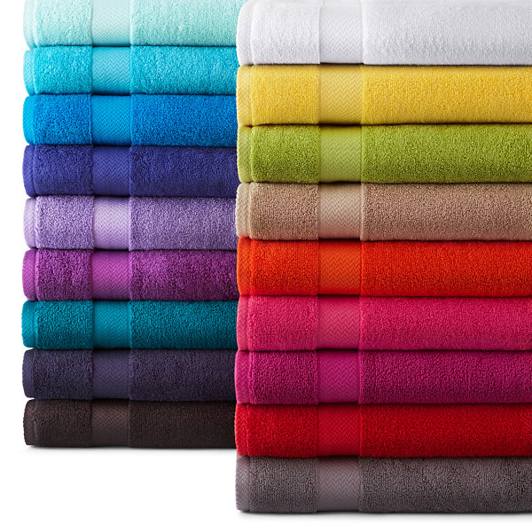 Jc Penney Home Collection: JCPenney Home Solid Bath Towels JCPenney