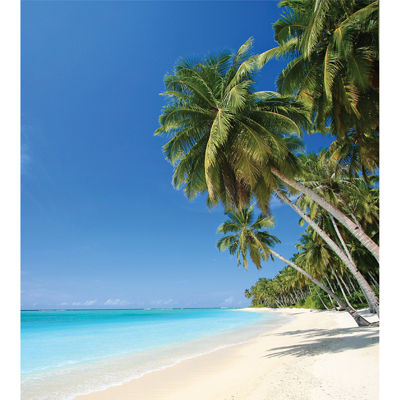 Set of 2 Beach Photographic Wall Decal