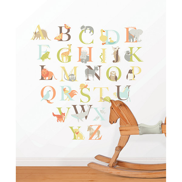 Alphabet Zoo Wall Decals