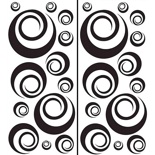 Ringlets Wall Decals
