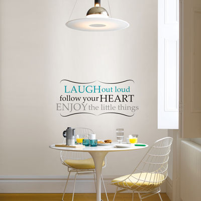 Laugh Out Loud Wall Decal