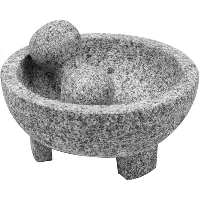 "IMUSA® 8"" Granite Molcajete Mortar and Pestle"