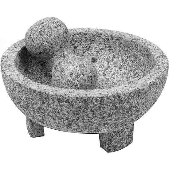 "IMUSA® 8"" Granite Molcajete Mortar and Pestle"