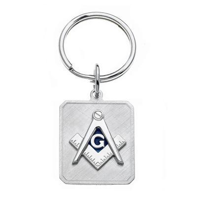 Personalized Masonic Key Ring
