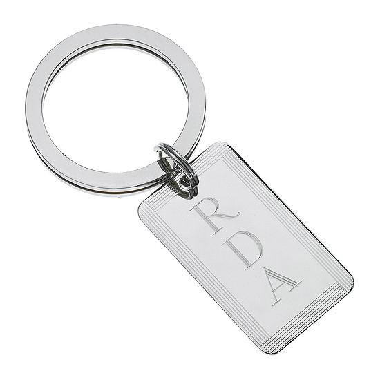 Personalized Rectangular Key Chain