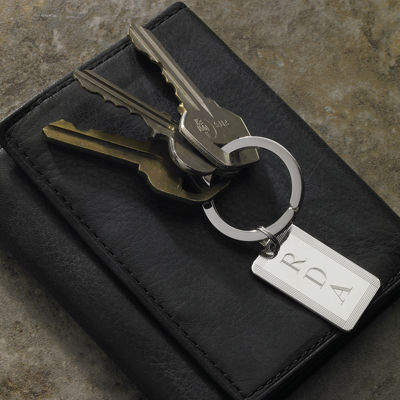 Men's Rectangle Key Chain