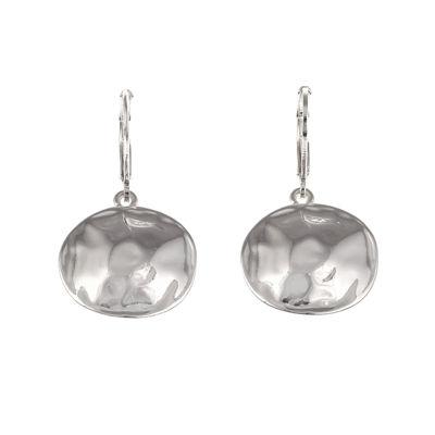 Gloria Vanderbilt® Silver-Tone Drop Earrings