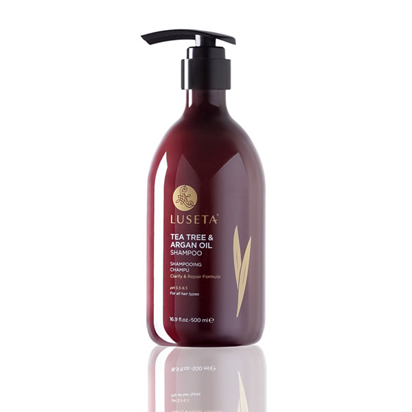 Luseta® Beauty Tea Tree & Argan Oil Shampoo - 16.9 oz.