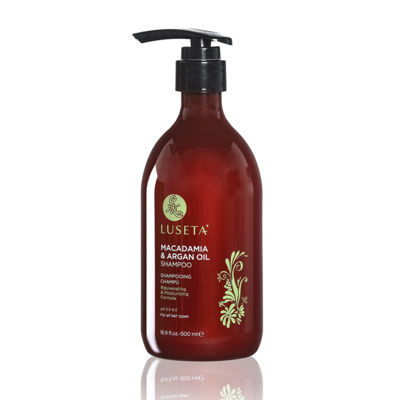 Luseta® Beauty Macadamia & Argan Oil Shampoo - 16.9 oz.