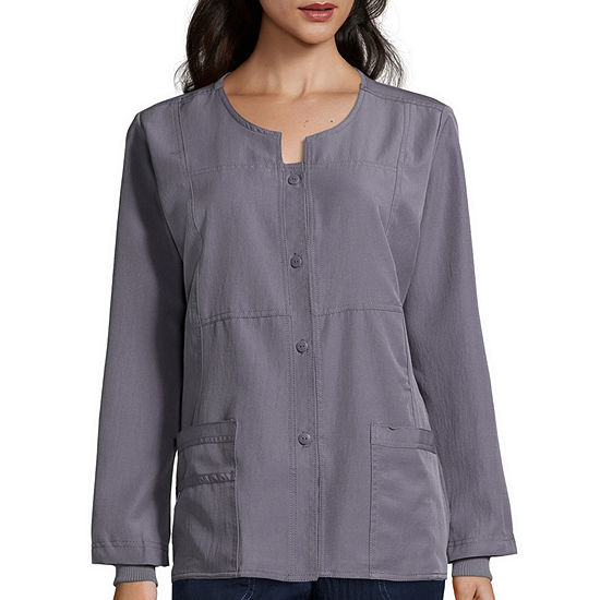 WonderWink® Four-Stretch 8114 Womens Sporty Snap-Front Jacket