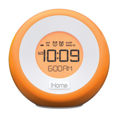 iHome® IM29SC Color-Changing Dual-Alarm Clock Radio