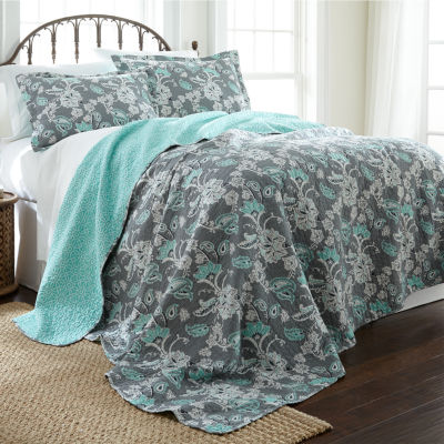 Anges Reversible Quilt Set